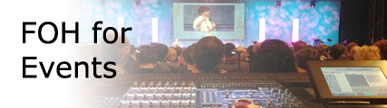 FOH for Events