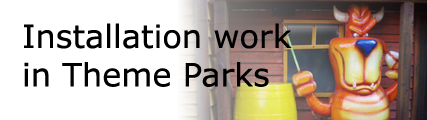 Installations in Theme Parks